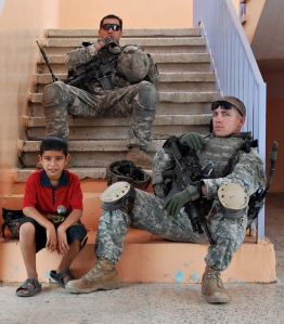 319th_AFA_soldiers_chillin'_out_in_Iraq